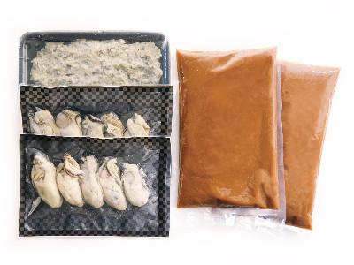 写真:牡蠣と味噌