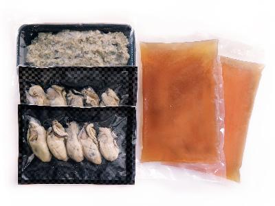 写真:牡蠣と出汁